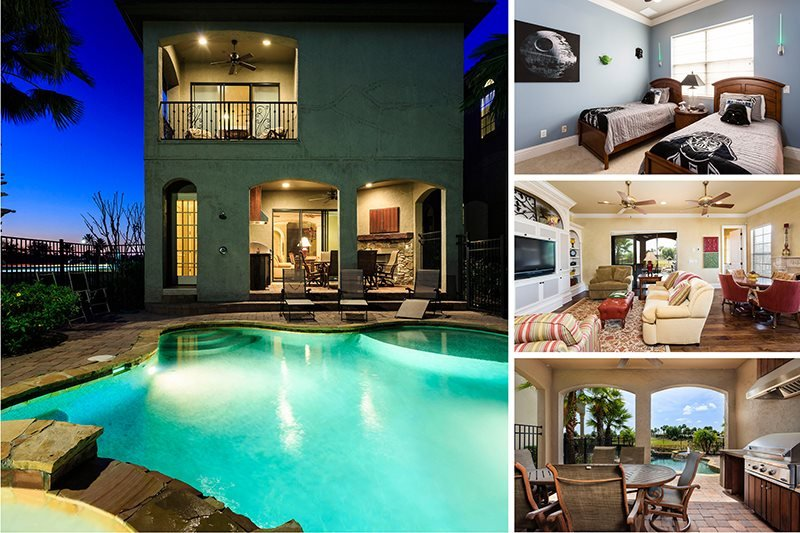Signature Villa | South Facing Pool, Outdoor Summer Kitchen, Star Wars Theme Room & Games Room with Golden Tee Arcade - Image 1 - Kissimmee - rentals