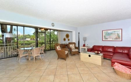 Spacious, Bright Living Area - Firethorn 611 - Siesta Key - rentals