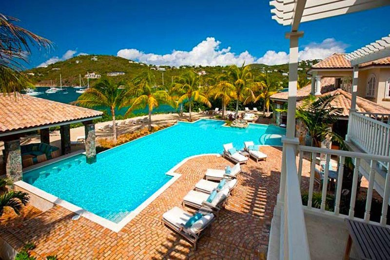 Luxury 9 bedroom St. John villa. A unique and matchless Caribbean villa experience for families and friends - Image 1 - Great Cruz Bay - rentals