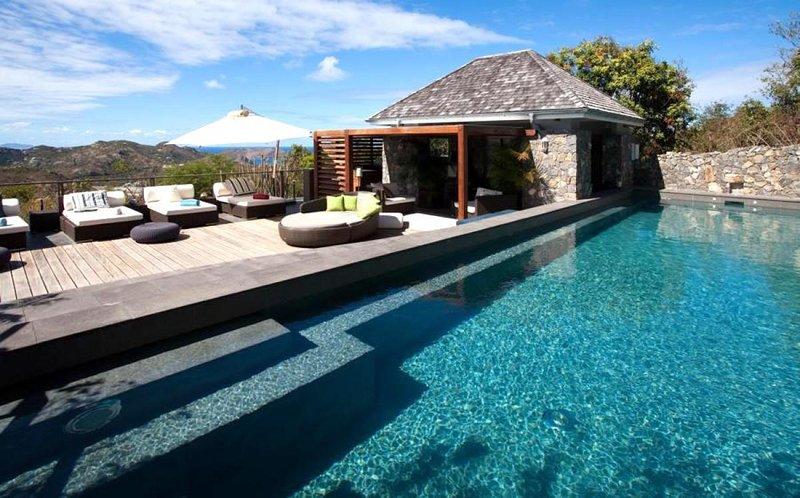 Luxury 6 bedroom St. Barts villa. Breatktaking views of the ocean and just minutes from the beach! - Image 1 - Lurin - rentals