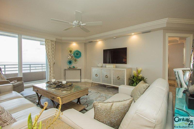 Living Room - Som 707 - Somerset - Marco Island - rentals
