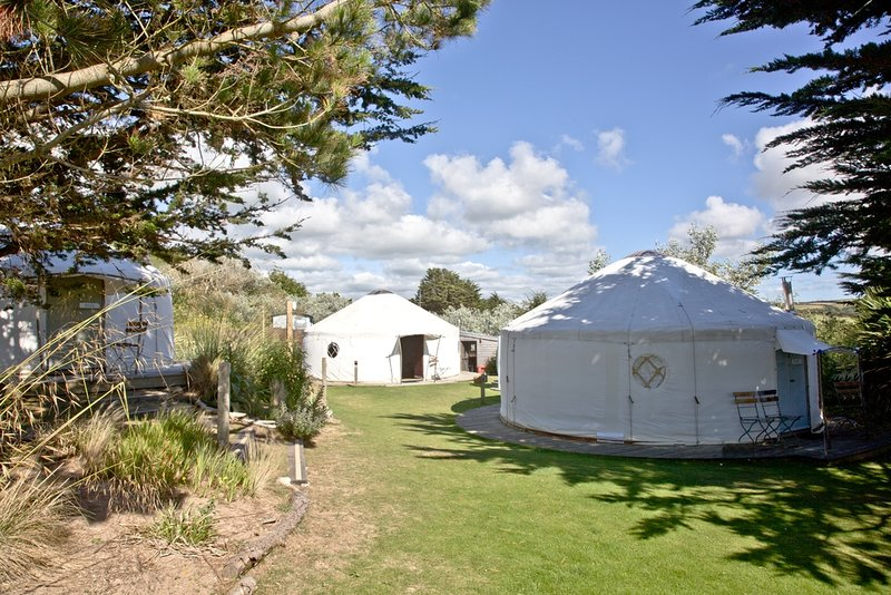 Boscawen, Yurt, The Park  located in Newquay, Cornwall - Image 1 - Newquay - rentals