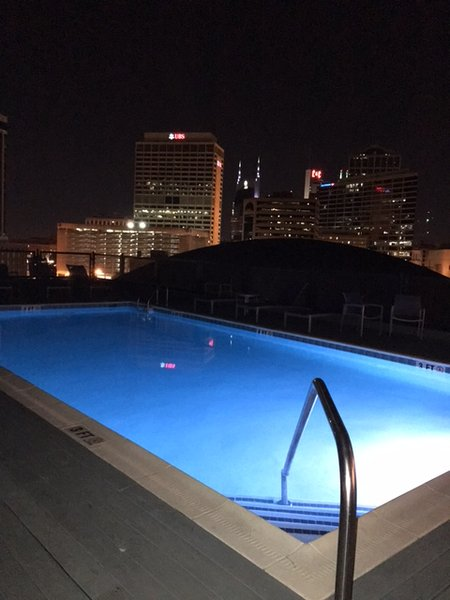 Music City Center of Nashville Two Bedroom Condo w/ Roof Top Pool!! BOOK NOW!! - Image 1 - Nashville - rentals