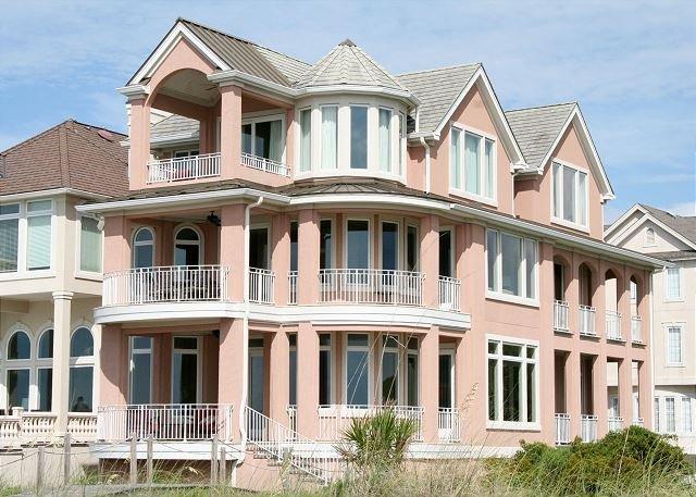 Collier Beach 5 Bedroom Oceanfront Home - Direct Oceanfront home, 5 Bedrooms, 5.5 Baths with Private Pool - Hilton Head - rentals