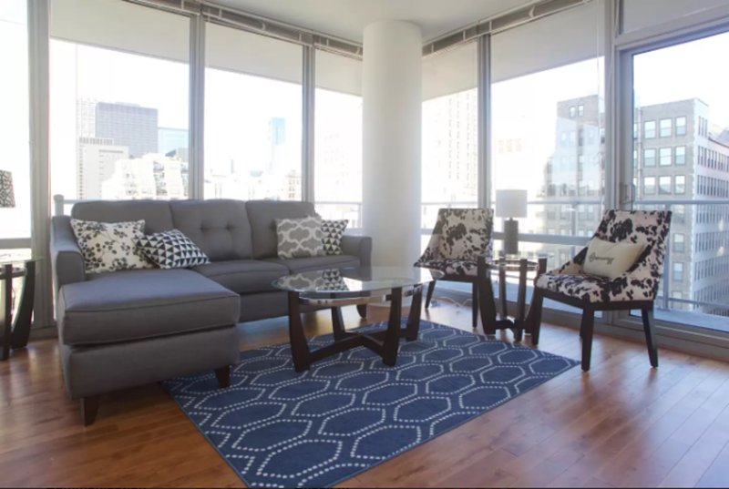 Furnished 2-Bedroom Apartment at W Polk St & S La Salle St Chicago - Image 1 - Chicago - rentals