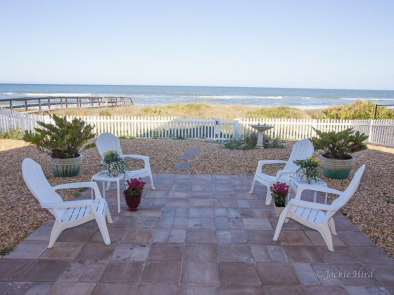Back of house on ocean - Sundance LUXURY OCEAN NEW ***NO HURRICANE DAMAGE!! - Saint Augustine - rentals