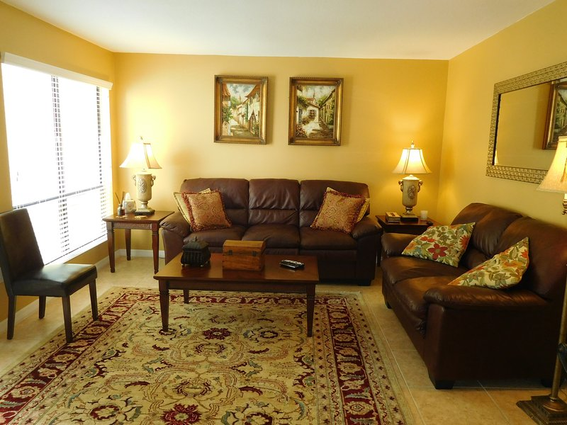Living room  - Stay on Siesta - Bay Oaks - Siesta Key - rentals