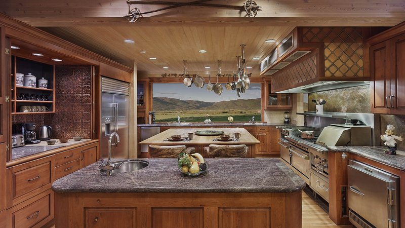 Professional Kitchen - Iron Horse Ranch - Luxury Rural Retreat - Steamboat Springs - rentals