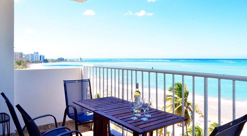 Magnificent ocean views! - Direct on Beach, In Middle of Casinos, Restaurants - Isla Verde - rentals