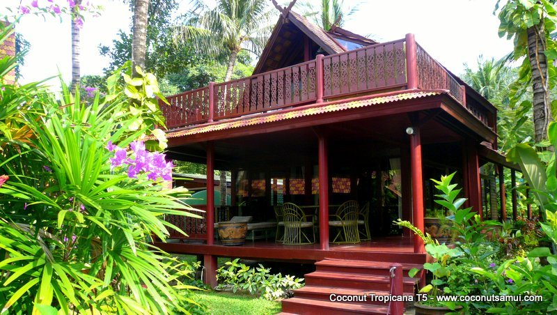 Holiday Villa Coconut Tropicana T5, Beachside at Bang Por Beach, Koh Samui - Image 1 - Koh Samui - rentals