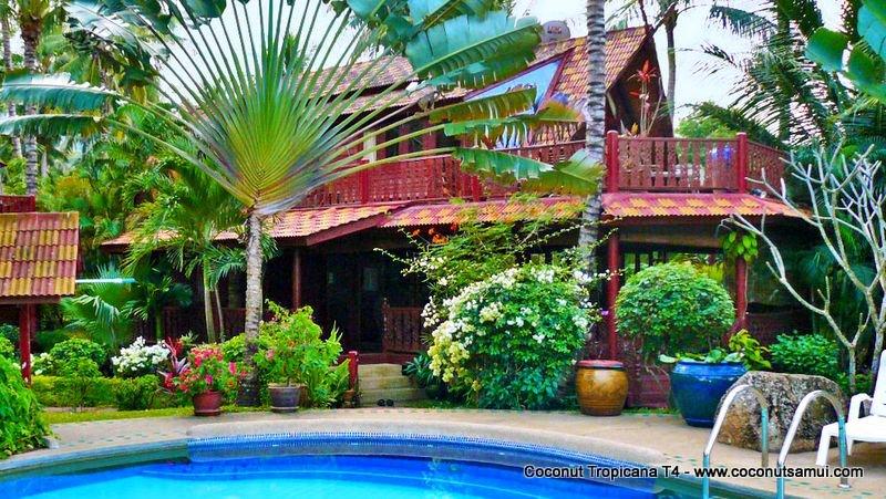 Holiday Villa Coconut Tropicana T4, Beachside at Bang Por Beach, Koh Samui - Image 1 - Koh Samui - rentals