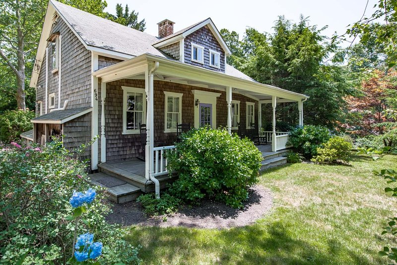 JORWT - Unique and Charming Summer Home, Beautiful Decor, Fabulous West Tisbury Beaches, Convenient Location - Image 1 - West Tisbury - rentals
