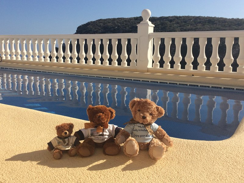 Teddy Bears deserve a holiday too! - Stunning 5 Star Villa, Sea Views, Heated Pool - Moraira - rentals