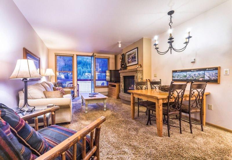 Black Bear Lodge 8061 - 3rd floor, ski area views, closest to the gondola! - Image 1 - Keystone - rentals