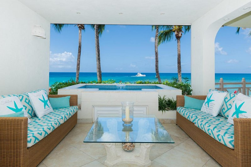 Reeds House #9 at Reeds Bay, St. James, Barbados - Beachfront, Gated Community, Pool - Image 1 - Saint James - rentals