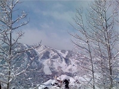 The money shot -- Breathtaking view from our deck. - Luxe 3BR Home Unobstructed Views of Town & Aspen - Aspen - rentals