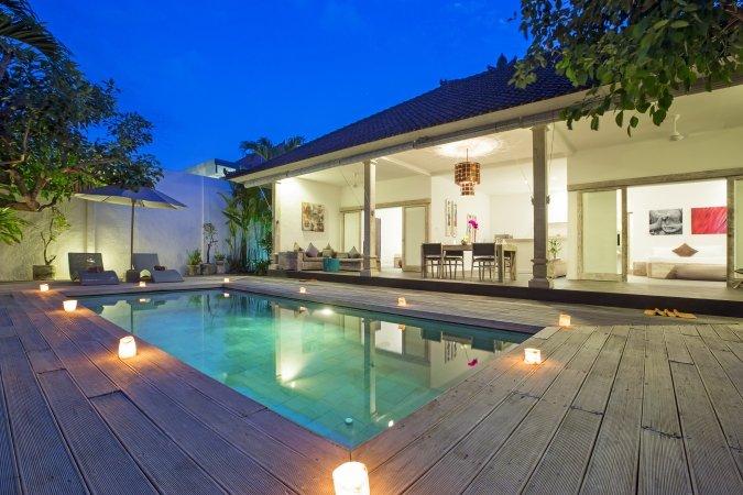 Cosy Luxury 2 Bedroom Villa, Seminyak - Image 1 - Seminyak - rentals