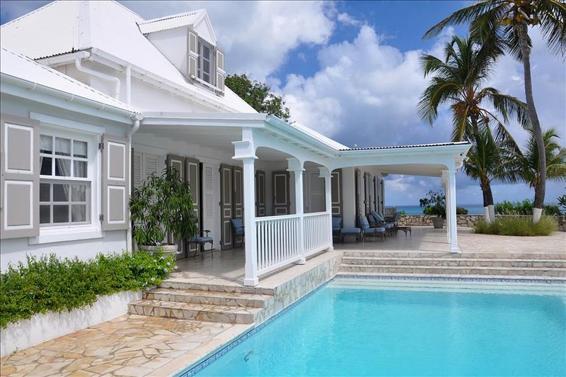 A unique French West Indian 5 bedroom villa on Baie Rouge Beach - Image 1 - Terres Basses - rentals