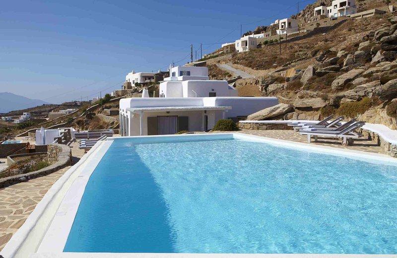 Blue Villas | Star Jasmine | Style and seaview - Image 1 - Mykonos Town - rentals