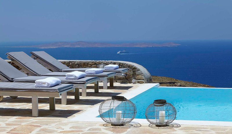 Blue Villas | Crystal Fairy | Gorgeous Views - Image 1 - Mykonos Town - rentals