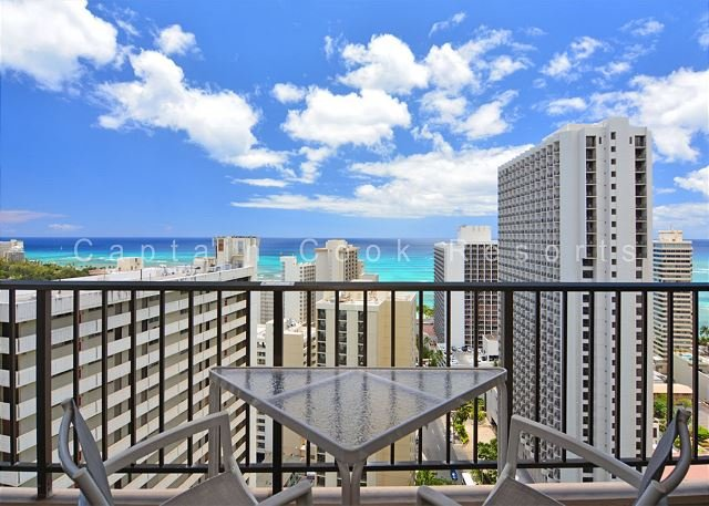 BEAUTIFUL Ocean Views!  A/C, WiFi, Pool, Parking!  WASHLET! - Image 1 - Waikiki - rentals