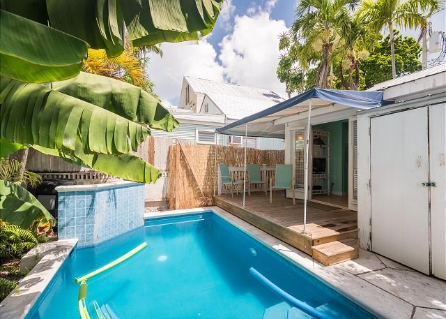 Poolside Paradise- Awesome Home 1/2 Block to Duval w/ Pool and Parking for 2! - Image 1 - Key West - rentals