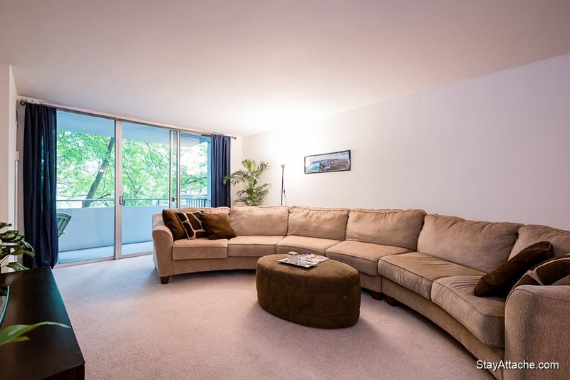 Furnished 1-Bedroom Apartment at River Rd & Clipper Ln Bethesda - Image 1 - Bethesda - rentals