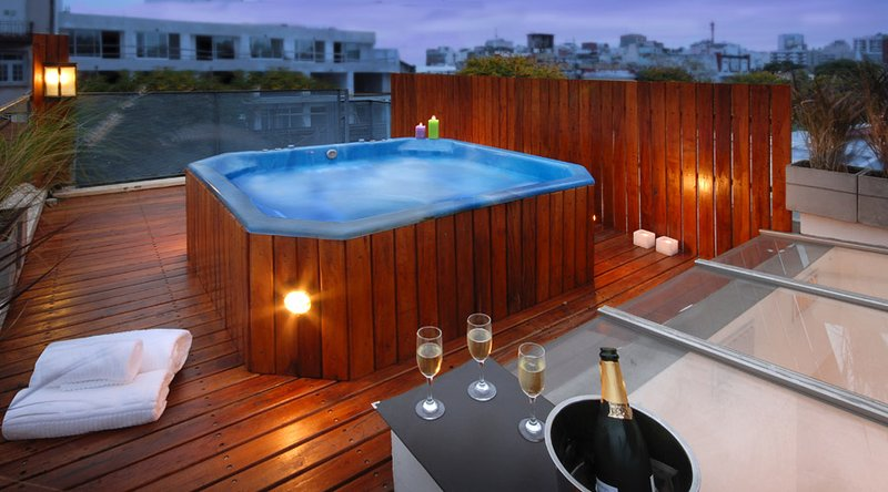 Private Jacuzzi - SPECTACULAR PRIVATE ROOFTOP W/ JACUZZI (PT4) 2 BEDROOMS / 1.5 BATH - Buenos Aires - rentals