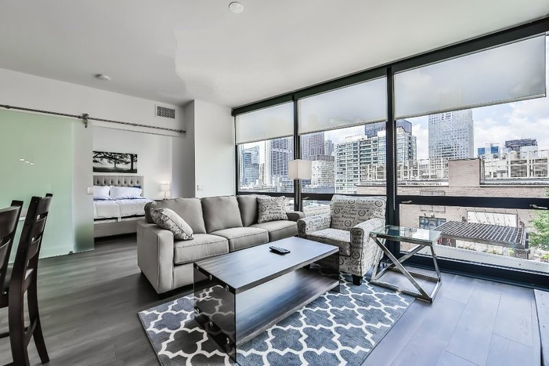Furnished 1-Bedroom Apartment at N Michigan Ave & E Lake St Chicago - Image 1 - Chicago - rentals