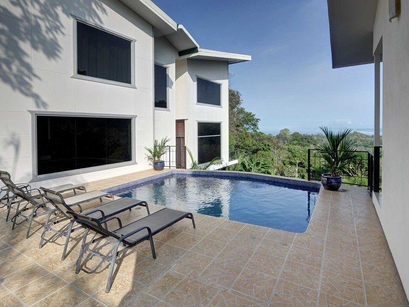 Casa del Sol-Fully A/C, Game Room, Ocean Views - Image 1 - Manuel Antonio National Park - rentals