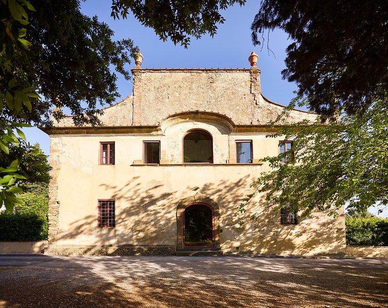 Historic Tuscan Villa on a Wine Estate in the Chianti Region  - Villa Carmina - Image 1 - Tavarnelle Val di Pesa - rentals
