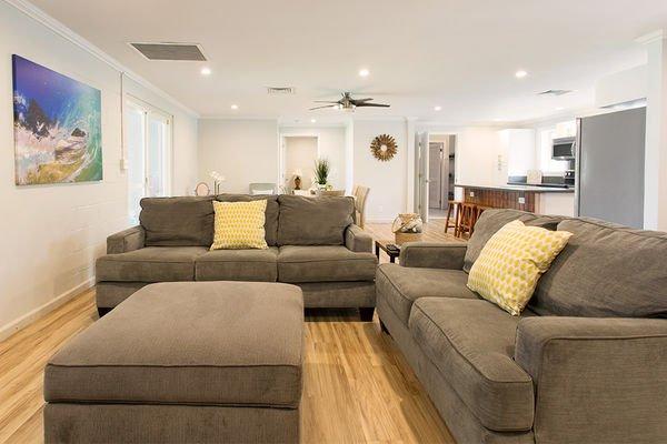 Living Room - Hale Kekela Iki - Last Minute Special - Laie - rentals