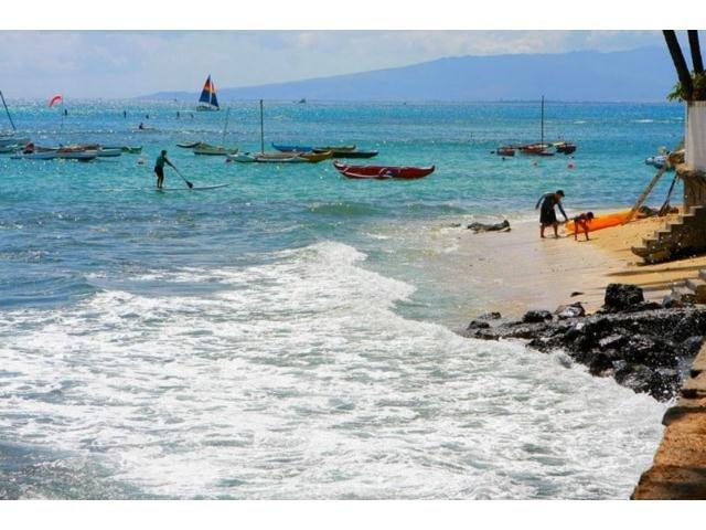 "Beach to enjoy - ""Gold Coast""/Ocean Front Bldg./1 Bdrm/Wifi/Sleeps4 - Honolulu - rentals"