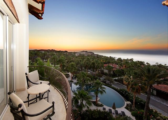 Second Bedroom Terrace - 4th Night Free Sept/Oct 2016 - Ocean View Penthouse in Esperanza Resort - Cabo San Lucas - rentals