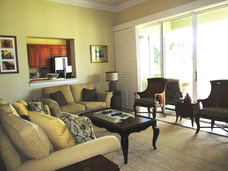 Living Room - Osprey Pointe in Pelican Marsh - Naples - rentals