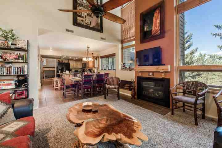 Recently remodeled and featuring modern mountain contemporary features, this home is ideal for families, couples, skiers and more. - Red Pine 4 Bedroom at Canyons - Park City - rentals