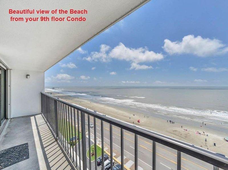 Beautiful 9th floor Ocean Front 2 Bedroom Condo - Image 1 - Galveston - rentals