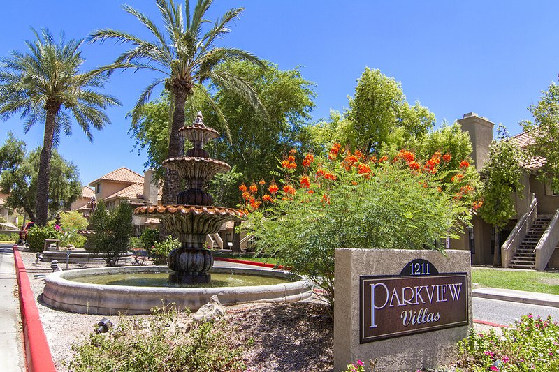 Entry to Condo - Cozy ground floor condo with pool view and patio - Scottsdale - rentals