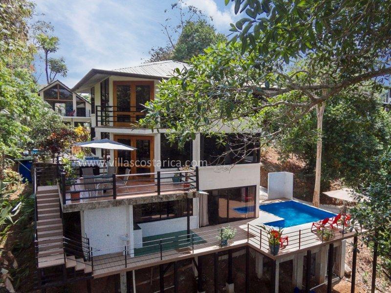 Magnificently designed multi-level villa in the rainforest - Casas Harmony - Full A/C - Jungle Paradise - Manuel Antonio National Park - rentals