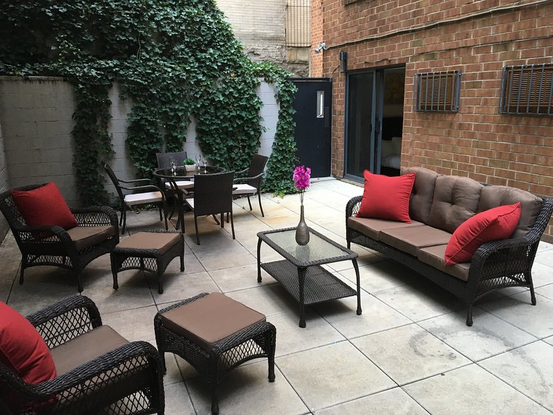 Patio - Gramercy 3BR/2BA - Spacious Apt! - New York City - rentals