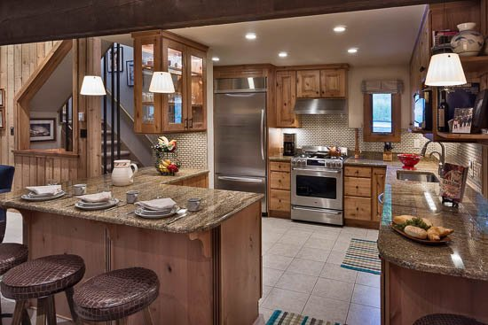 Remodeled Kitchen - Ski in/Ski out at Right-O-Way Chalet - Steamboat Springs - rentals