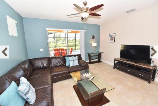Solterra Resort 5 Bedroom 4.5 Bath Pool Home. 5165OA - Image 1 - Davenport - rentals