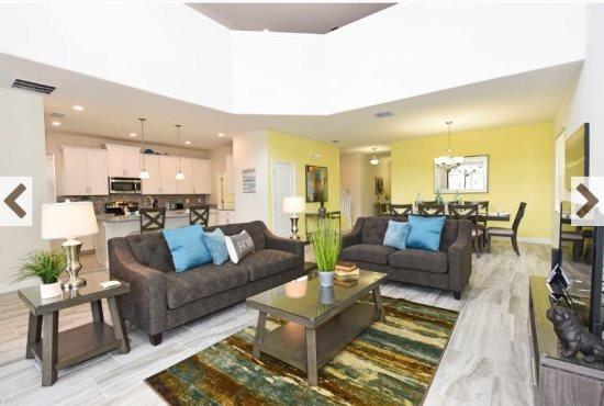 Modern 5 Bedroom 5 Bath Solterra Resort Pool Home. 5488SC - Image 1 - Davenport - rentals