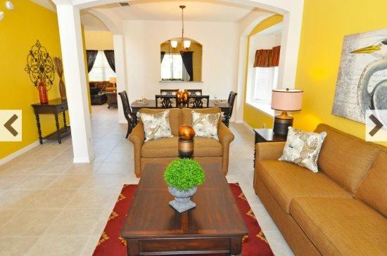 6 Bedroom 5.5 Bath Pool Home in Gated Resort. 4380AC - Image 1 - Davenport - rentals