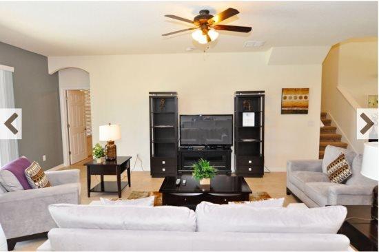Beautiful 5 Bedroom 4.5 Bath Watersong Resort Pool Home. 227YSD - Image 1 - Davenport - rentals