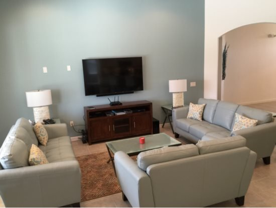 Modern 5 Bed 4 Bath Watersong Resort Pool Home. 267YSD - Image 1 - Davenport - rentals