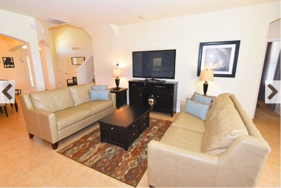 5 Bedroom 4.5 Bath Watersong Pool Home. 339YSD - Image 1 - Davenport - rentals