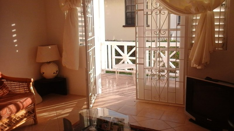 Lounge June 2016 - Sea Coast GF 2 bed villa 50 metres from the beach - Oistins - rentals