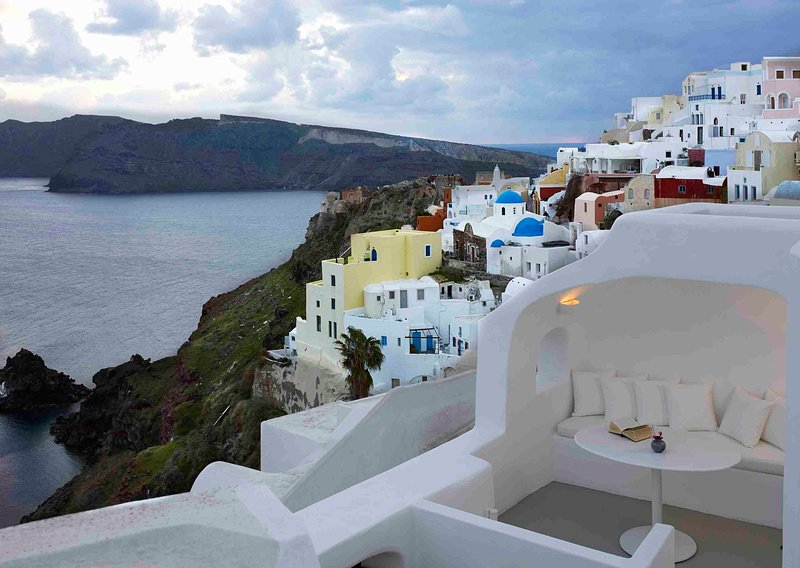 Blue Villas |The Captain's Cave| Cave Villa in Oia - Image 1 - Oia - rentals
