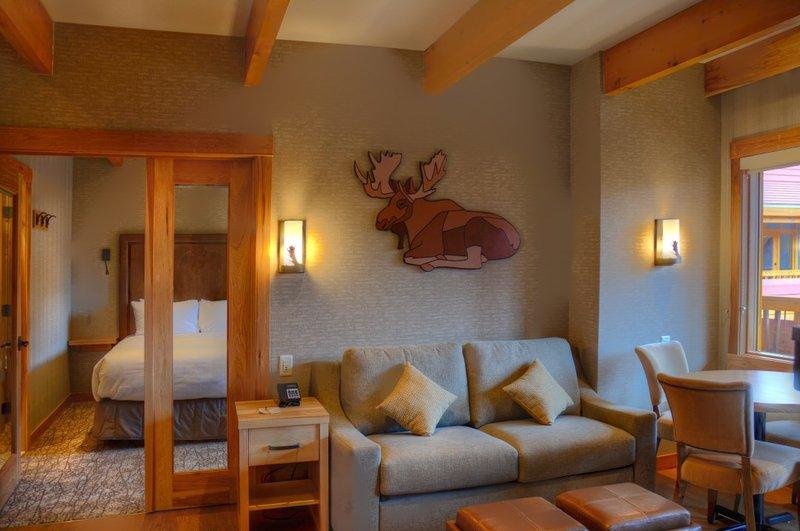 This large, premium suite is beautifully decorated - Banff Moose Hotel & Suites Premium Rooftop 2 Bedroom Suite - Brand New - Banff - rentals